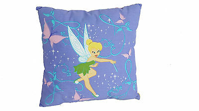 Disney  Tinkerbell  Toddler Bed  Decorative Pillow  Girls  Fairy -Lavender