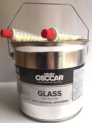 SALE OSCCAR GLASS 4.5 Kg car and boat Sandable Body Fibre Glass Bridging Filler