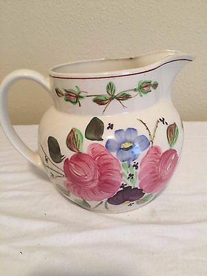Blue Ridge Alice Pitcher In the Opulance Pattern