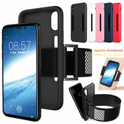 For iPhone X 8 Plus 7 6s Sports Running Workout Gym Armband Strap Arm Belt Case