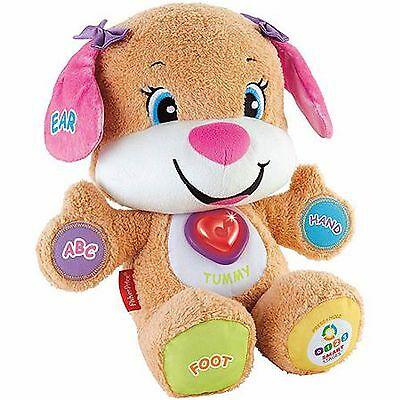 Fisher-Price Laugh and Learn Smart Stages Sis Soft  Plush Cuddly Toy Playmate