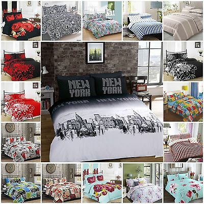 Luxury Duvet Cover Set with Pillowcases Quilt Cover Set Bedding Set in All Sizes