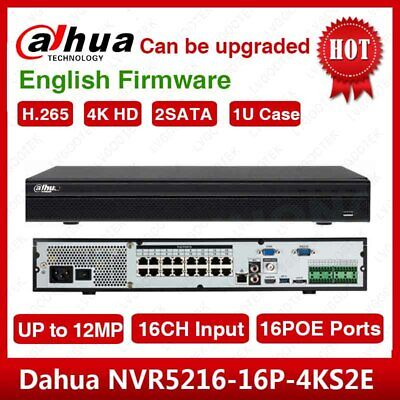 Hikvision 8CH  DS-7608N-E2/8P Ultra HD UHD Network NVR 5MP 8PoE 8CH  Recorder