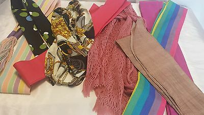 Lot of 8 Sashes / scarf