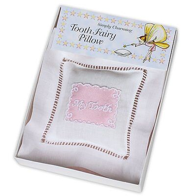 Simply Charming Tooth Fairy Pillow - Made in USA Pink