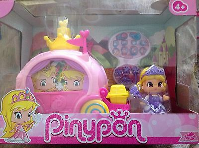Pinypon Fairy Tales Princess Figure and Carriage (damaged packaging)