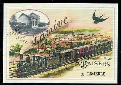 LIMERLE  ..... TRAIN ...   souvenir creation moderne serie numerotee