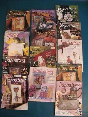 LOT of 13 Stampington Inspirations back issue magazines Excellent Condition