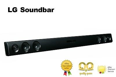 New LG LAS260B 2.0 Ch 100W Home Cinema Soundbar with Bluetooth Optical AND Jack