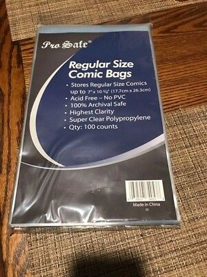 100  Ultra Pro Bags And Boards For Comic Books       New   Free Shipping!!!!!!!!