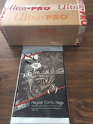 10 Ultra Pro Bags And 10 Boards For Comic Books  New Free Shipping!!!!!!