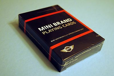 MINI Brand Playing Cards, MG-04-07-20M, New, Mini Cooper