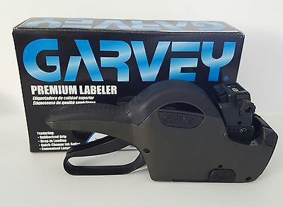 Garvey,  G-Series 22-8, 1 Line, 8 Digit, Price Gun  And Free Ink Roller
