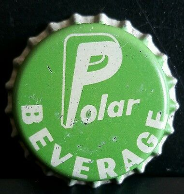 POLAR BEVERAGES soda bottle cap unused cork #2