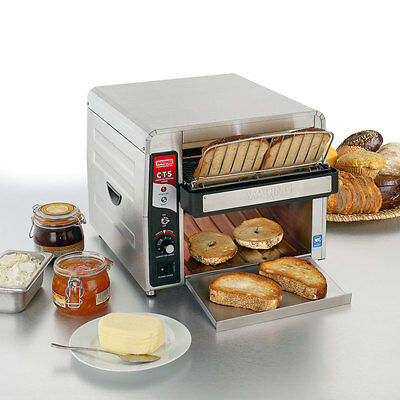 Waring CTS1000 Commercial Conveyor Type Electric Toaster 120V Food Service Cafe