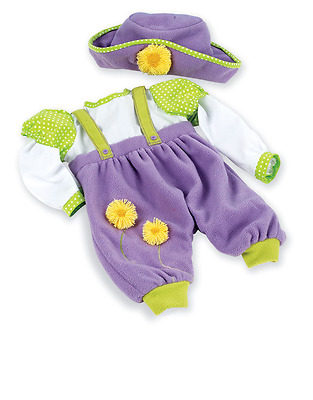 "Madame Alexander Dainty Daffodils Romper 19"" Doll Outfit - NEW"