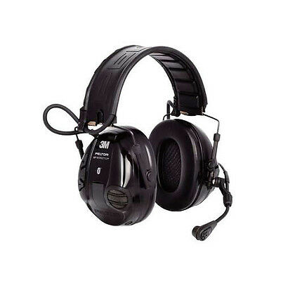 3M MT16H21FWS5UM580 Peltor WS 100 Communications Headset, NRR 20 dB, Black