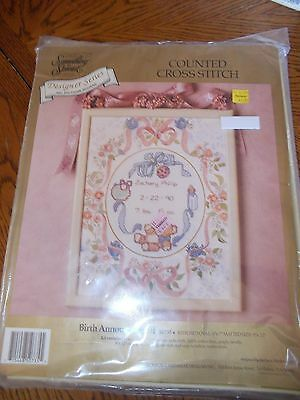 Birth Announcement/counted Cross Stitch Kit/new/something Special Des.series