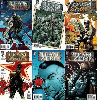 TEAM ZERO lot of six issues 1,2,3,4,5,6  WILDSTORM COMICS NM Chuck Dixon