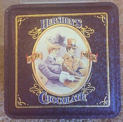 Vintage - Hershey's Chocolate Vintage Collectors Tin Edition 4, 1995 Candy Bars