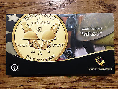 2016-S American $1 Coin and Currency Set