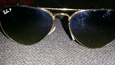 b1d5fa0c0ea Ray Ban P Aviator Sunglasses Cracked Lens · Broken Ray Bans Lens · For Ray-Ban  Innerview (B L). Confirm Fit. Revant Replacement Lenses .