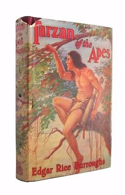 Tarzan of the Apes - collectible wartime ed. of the Burroughs classic w/ jacket