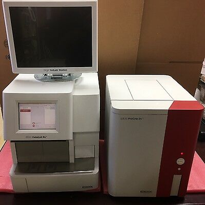 Idexx Catalyst DX Veterinary Chemistry Blood Analyzer Firmware Ver. 2.2.XXX