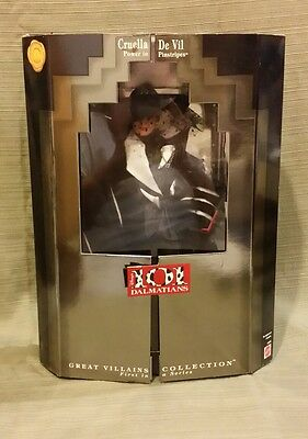 Disney's CRUELLA DE VIL 101 Dalmations 1996 #16295 Power in Pinstripes MIB NEW
