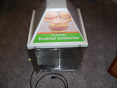 Wisco Model 690 Food Sandwhich Warming Oven Box Two Door Two Shelves