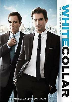 White Collar: The Complete Fifth Season 5 Five (DVD, 2014, 4-Disc Set) - NEW!!