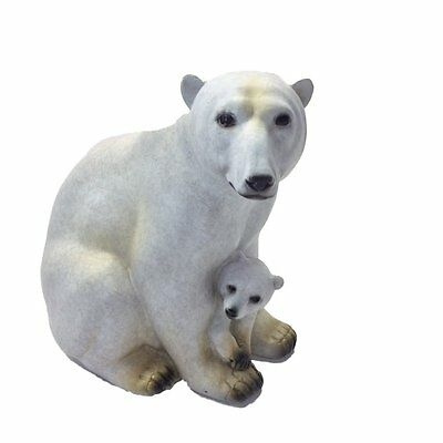 Alaska Wildlife Figurine Polar Bear & Cub Special Edition