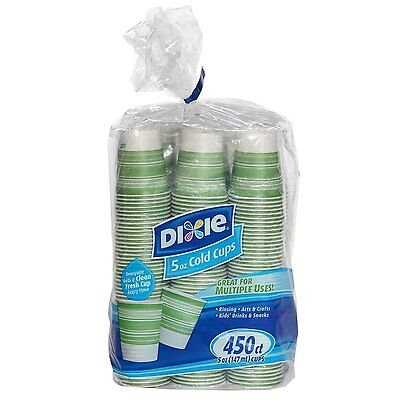 Dixie Cold Paper Cups, 5 oz. 450 ct.
