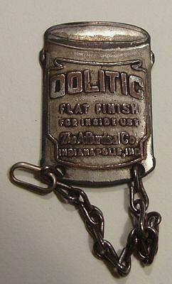 A. BURDSAL.  Oolitic Paint.  Vintage Indianapolis, Ind. Advertising Fob.
