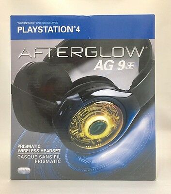 PDP Afterglow AG 9+ Prismatic True Wireless Headset for PlayStation 4 (PS4)