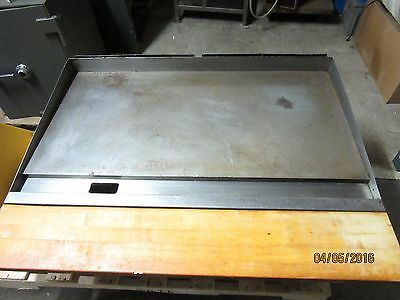 48 Inch Wells Used Counter Top Gas Flat Griddle    (16-019-60)