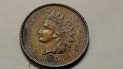 1901 Indian Head Cent - Full Liberty