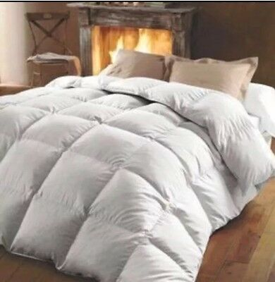Double Bed 15 TOG *LUXURIOUS* 60% White Goose Feather 40% Down Duvet