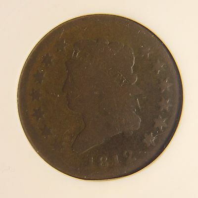 1812 Classic Head Large Cent, S-288, Large Date