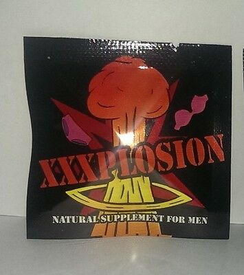 XXXPLOSION / 20 Pills / Male Enhancement / New Sex Pill / Free Shipping US
