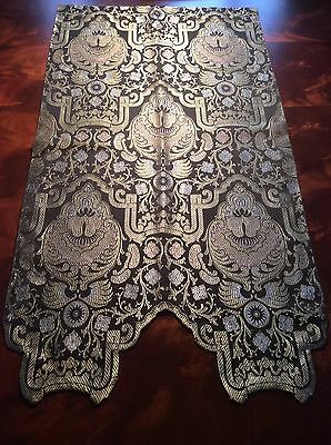 Early 20th Century Fortuny Like Fabric Wall Hanging