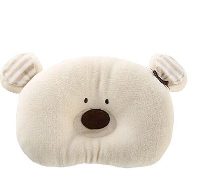 Cute Soft Cotton Animal Shape Prevent Flat Head Support Sleeping Pillow For Baby