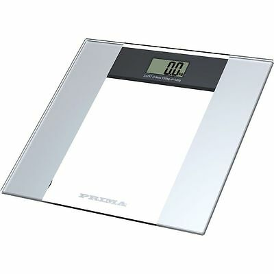Digital Body Scale Lcd Electronic Glass 150kg Bathroom Weighing Health New
