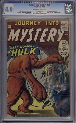 Journey Into Mystery #62 - CGC Graded 4.0