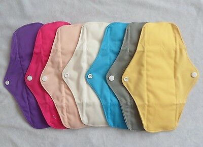 Reusable Bamboo Cloth  Sanitary Pad Medium Regular Flow FREE P&P! UK seller