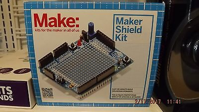 *brand New* Make: Maker Shield Kit The Ultimate Prototyping Shield