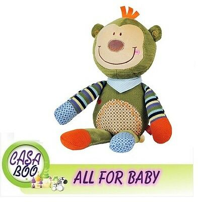 Big MONKEY soft toy WITH RATTLE Babyono