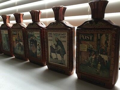 12 Bottle Lot of Jim Beam Collectible Bourbon Whiskey Decanters Bicentennial +