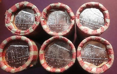 "2009d Lincoln Bicentennial Birth Place ""Log Cabin"" LP1  Roll Lincoln Pennies T/T"