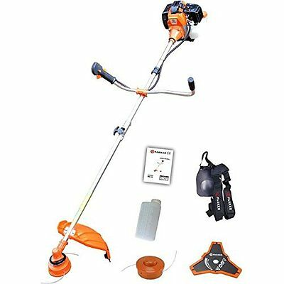 52Cc Petrol Strimmer Garden Grass Brush Cutter Trimmer - Free Tool Kit + More